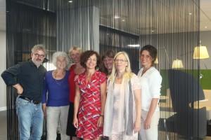 Erik te Loo, Anneke Kempkes, Petra Steffens (achter), Astrid Mols, Gerda Ponte (achter), Paulien Pinksterboer, Annemieke Harmens