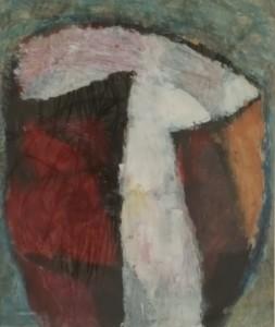 Schilderij 'gevangen licht'